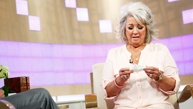 Paula Deen Crying on Today Show - H 2013