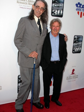 Peter Mayhew Harrison Ford - P - 2010