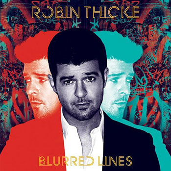 Rob Thicke Blurred Lines Album Art - S 2013