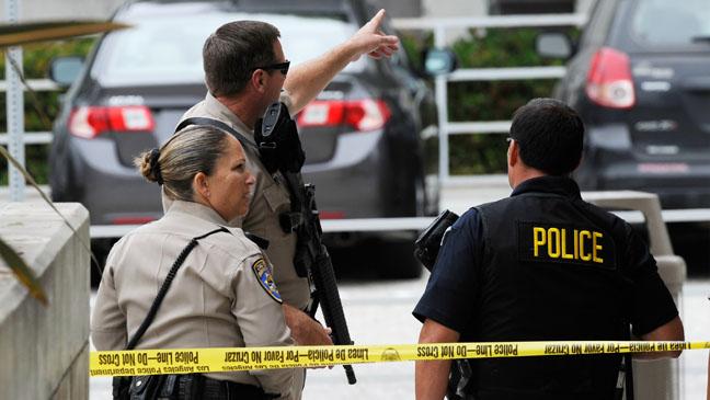 Santa Monica College Police Tape - H 2013