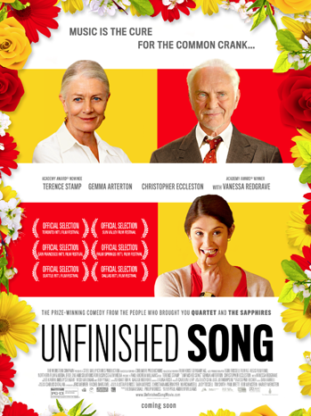 Unfinished Song one sheet - P 2013