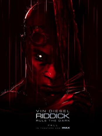 Riddick one sheet - P 2013