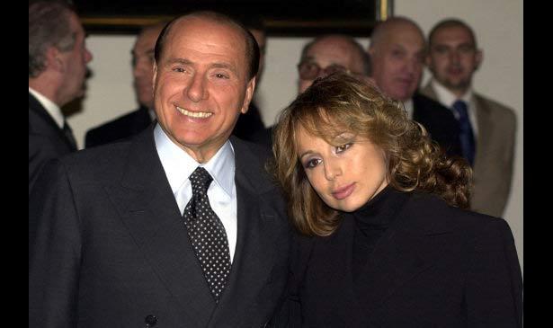 Silvio and Marina Berlusconi