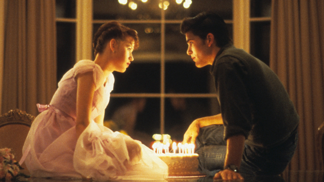 Sixteen Candles Ringwald Schoeffling with Birthday Cake - H 2013