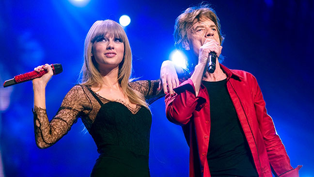 Taylor Swift Rolling Stones - H 2013