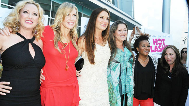 The Hot Flashes Premiere Cast - H 2013