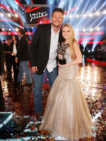The Voice Blake with Danielle Bradbery - P 2013