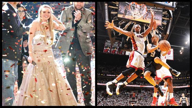 The Voice Danielle Bradbery NBA Finals Split - H 2013