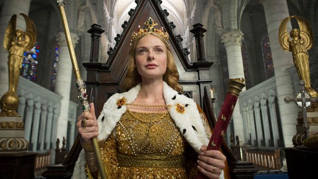 The White Queen Ferguson in Throne - H 2013