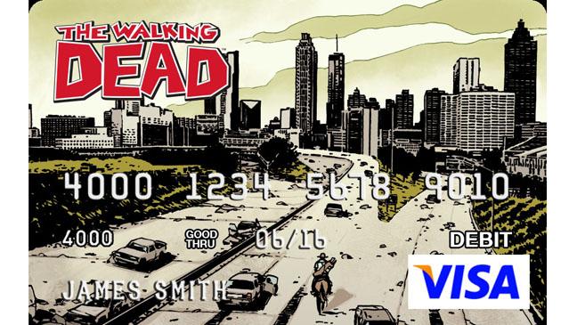 The Walking Dead Visa Card - H 2013