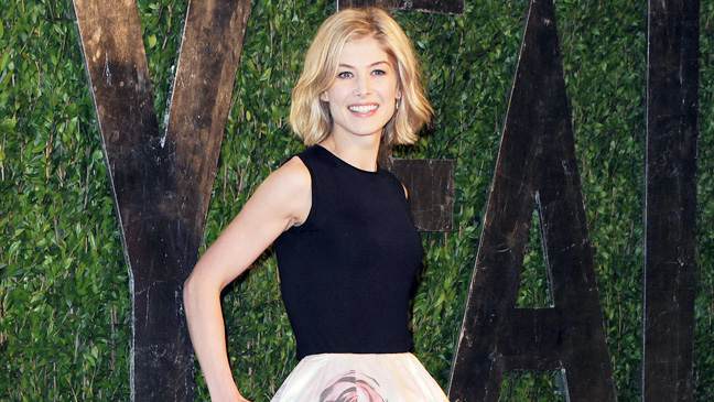 Rosamund Pike Oscars After party - H 2013