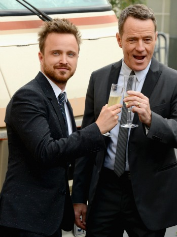 Aaron Paul Bryan Cranston Breaking Bad Premiere - P 2013