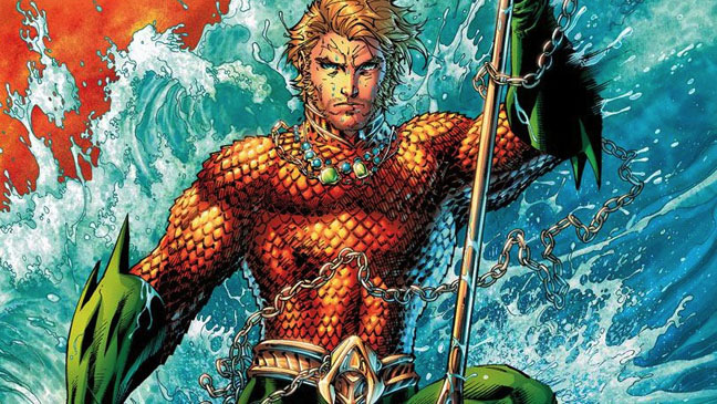 Aquaman Illustration - H 2013