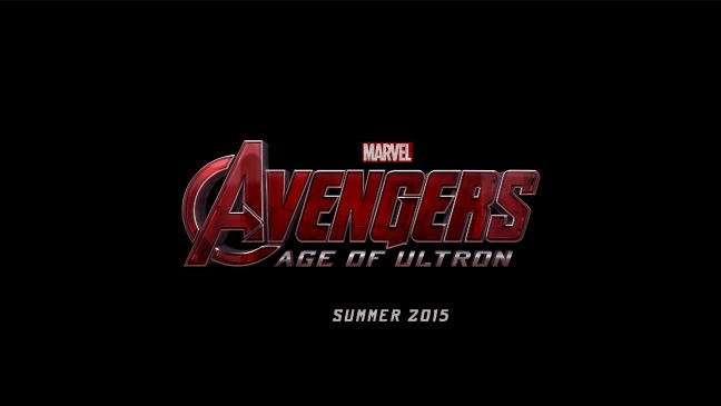 Avengers Age of Ultron Logo - H 2013