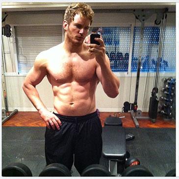 Chris Pratt Instagram Selfie - S 2013