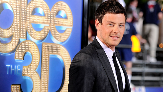 Cory Monteith Glee 3D Premiere Arrivals - H 2013