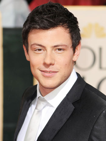 Cory Monteith Golden Globes Arrivals - P 2013