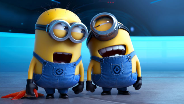 Despicable Me 2 Minions Laughing - H 2013