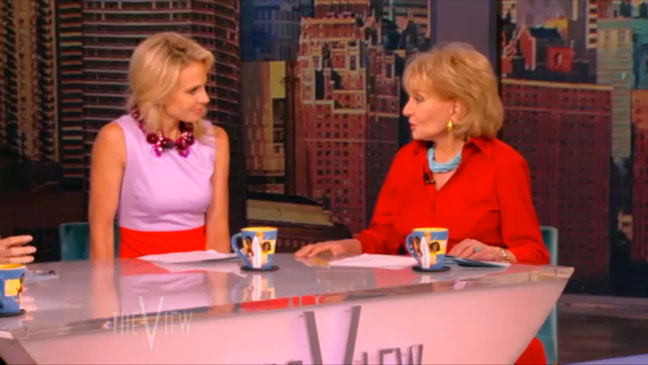 Elisabeth Hasselbeck Last Day on The View - H 2013