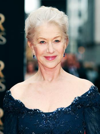 Helen Mirren Laurence Olivier Awards - P 2013