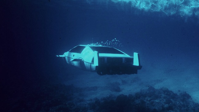 James Bond Submarine Car Auction - H 2013