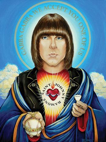Johnny Ramone illustration P