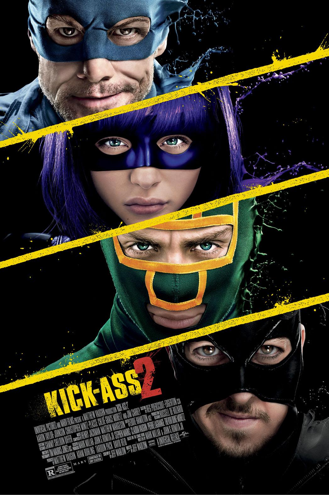 Kick-Ass 2 one sheet - P 2013