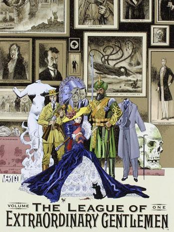 League of Extraordinary Gentlemen Graphic Novel Cover - P 2013