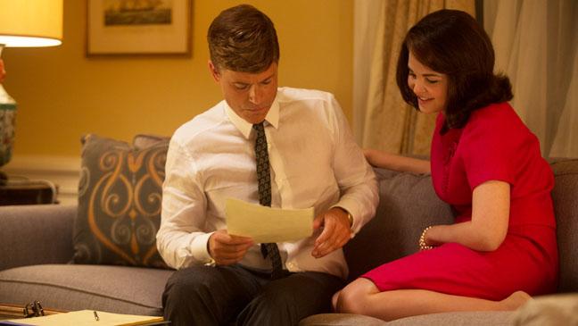 Rob Lowe Ginnifer Goodwin as The Kennedys still - H 2013