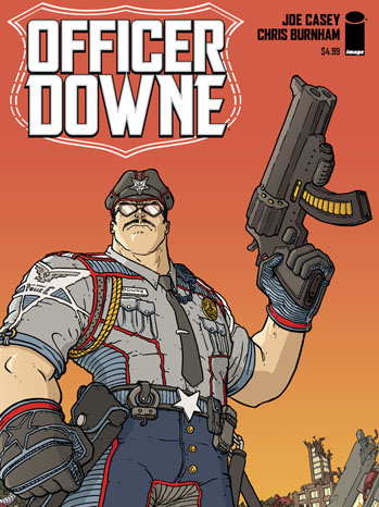 Officer Downe Cover - P 2013
