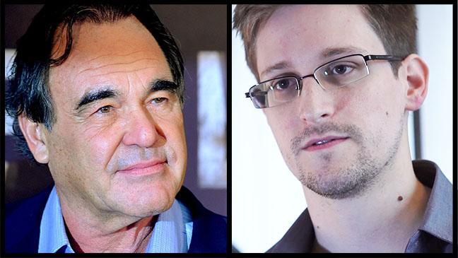 Oliver Stone Edward Snowden Split - H 2013