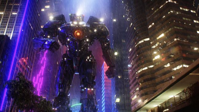 Pacific Rim Robot in Rain - H 2013