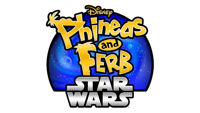 Phineas and Ferb Star Wars Logo - H 2013