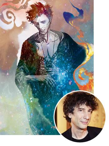 DC Comic The Sandman Art with Neil Gaiman Inset - P 2013