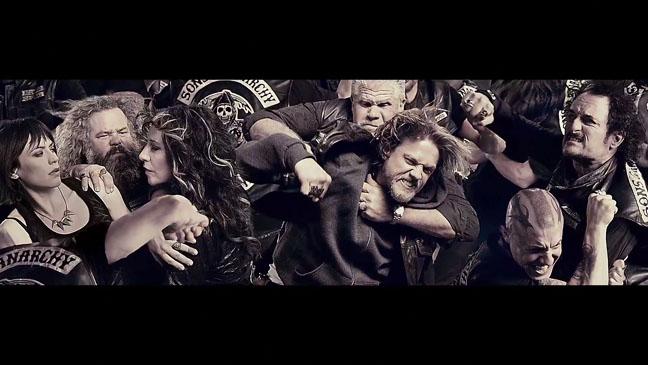 Sons of Anarchy Season 6 Promo Screengrab - H 2013