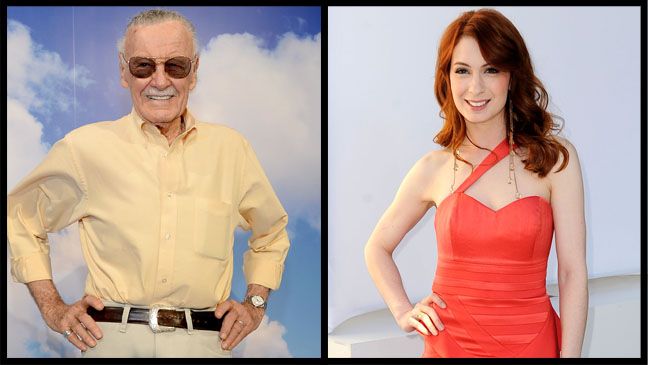 Stan Lee Felicia Day - H 2013