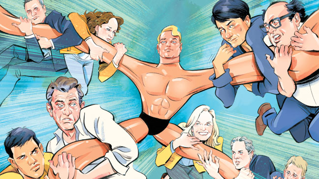 Issue 25 FEA Stretch Armstrong Illustration - H 2013