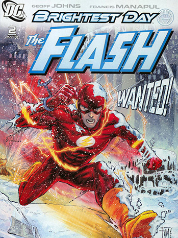 The Flash Comic Cover - P 2013