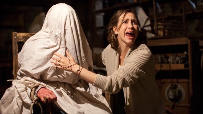 The Conjuring Farmiga Screaming - H 2013