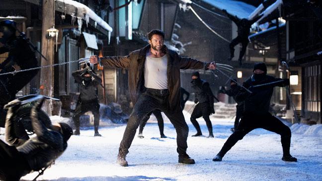 The Wolverine Jackman in Snow Fighitng still - H 2013