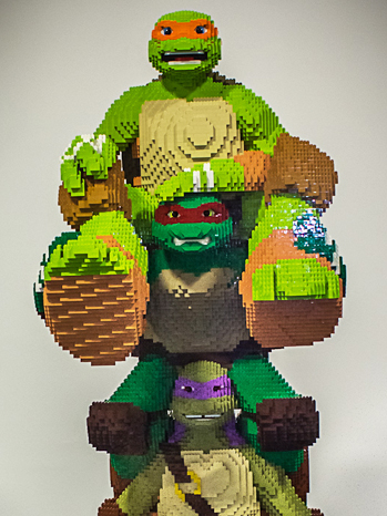 TMNT Lego Statue Crop - P 2013