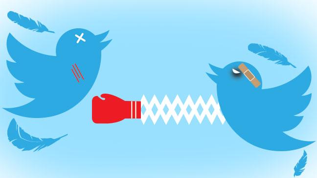 Twitter Battle Graphic - H 2013
