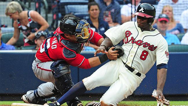 Atlanta Braves Washington Nationals Game - H 2013