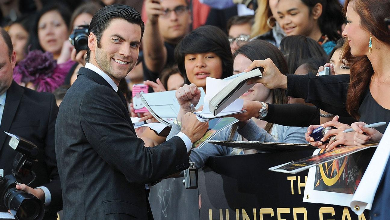 Wes Bentley Hunger Games Premiere - H 2013