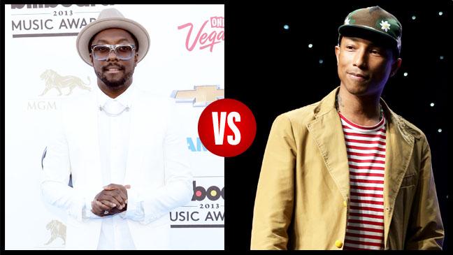 Will.I.Am VS. Pharrell Split - H 2013