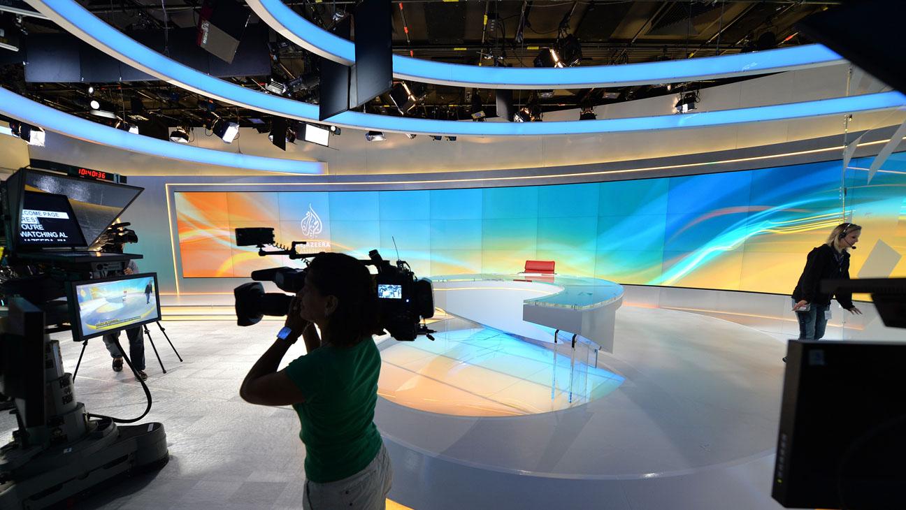 Al Jazeera America Broadcast Room - H 2013
