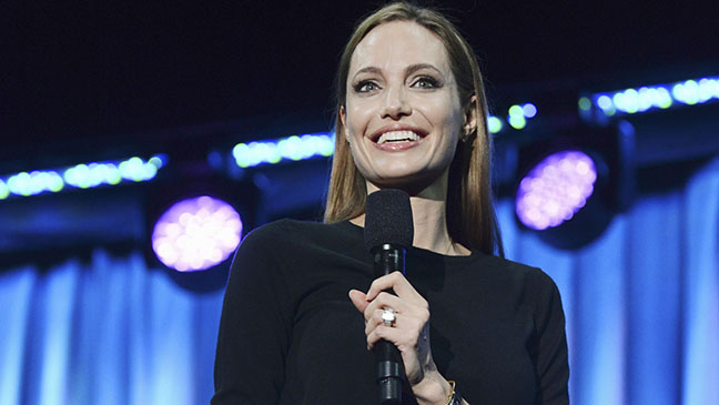 Angelina Jolie at D23 H