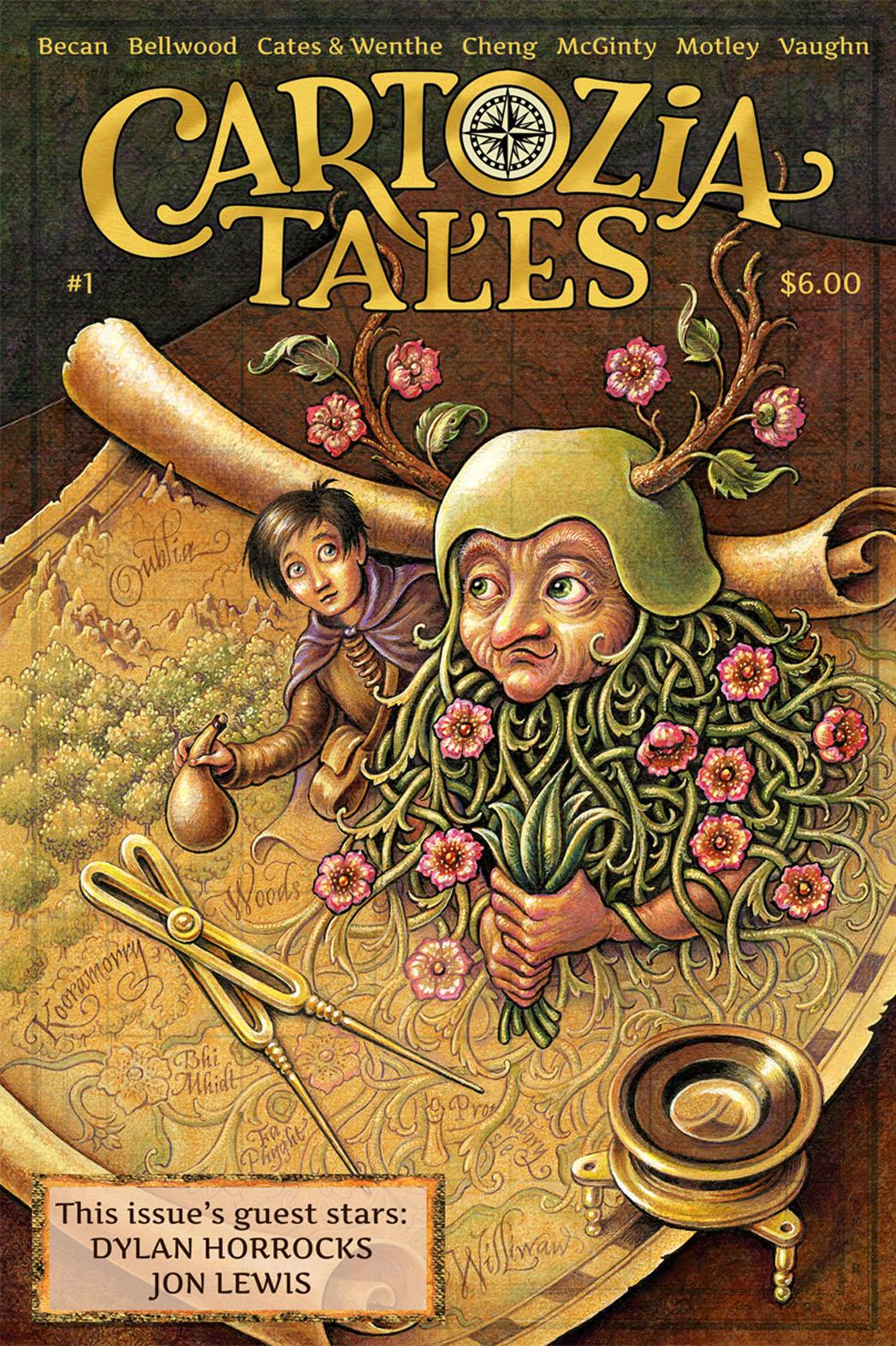Cartozia Tales Cover - P 2013