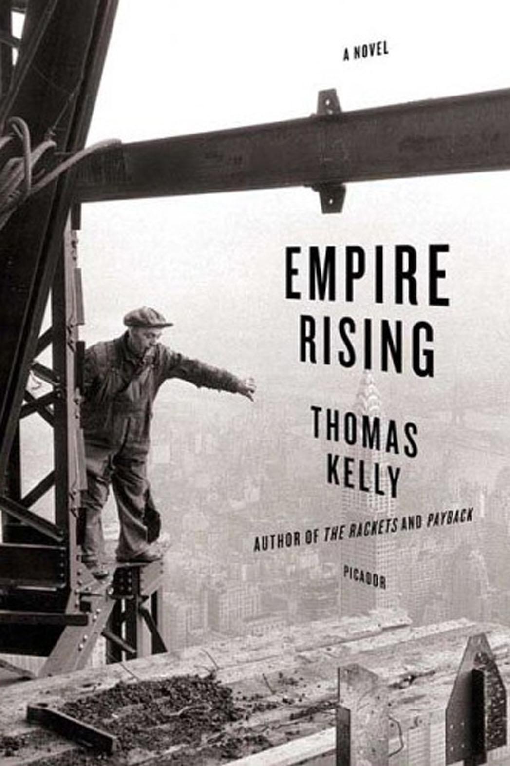 Empire Rising Thomas Kelly Book Cover - P 2013
