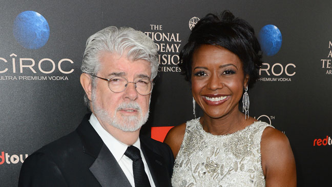 George Lucas Melody Hobson - H 2013